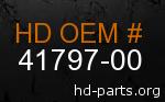 hd 41797-00 genuine part number