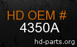 hd 4350A genuine part number