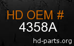 hd 4358A genuine part number