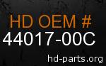 hd 44017-00C genuine part number