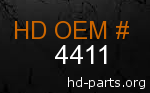 hd 4411 genuine part number