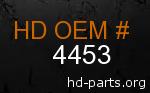 hd 4453 genuine part number