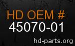 hd 45070-01 genuine part number