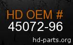hd 45072-96 genuine part number