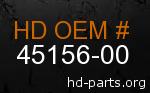 hd 45156-00 genuine part number