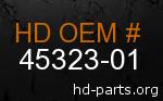 hd 45323-01 genuine part number