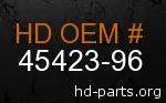 hd 45423-96 genuine part number