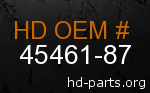 hd 45461-87 genuine part number