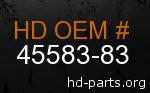 hd 45583-83 genuine part number