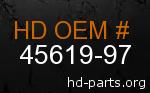 hd 45619-97 genuine part number