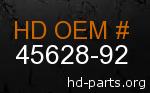 hd 45628-92 genuine part number