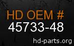 hd 45733-48 genuine part number