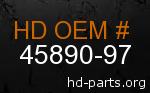 hd 45890-97 genuine part number