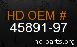 hd 45891-97 genuine part number
