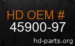 hd 45900-97 genuine part number