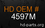 hd 4597M genuine part number