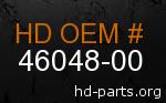 hd 46048-00 genuine part number