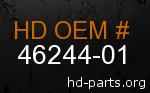hd 46244-01 genuine part number