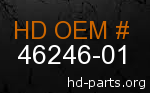 hd 46246-01 genuine part number