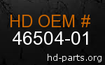 hd 46504-01 genuine part number