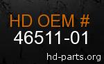 hd 46511-01 genuine part number