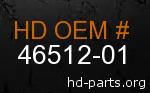hd 46512-01 genuine part number