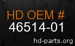 hd 46514-01 genuine part number