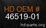 hd 46519-01 genuine part number