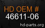 hd 46611-06 genuine part number