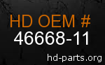 hd 46668-11 genuine part number