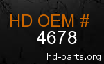 hd 4678 genuine part number