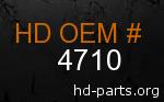 hd 4710 genuine part number