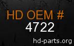 hd 4722 genuine part number