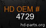 hd 4729 genuine part number