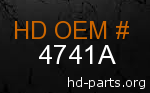 hd 4741A genuine part number