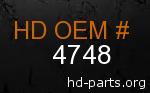 hd 4748 genuine part number