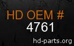 hd 4761 genuine part number