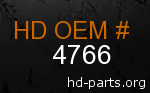 hd 4766 genuine part number