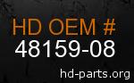 hd 48159-08 genuine part number