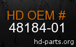 hd 48184-01 genuine part number