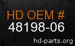 hd 48198-06 genuine part number