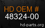 hd 48324-00 genuine part number