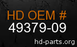 hd 49379-09 genuine part number