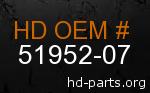 hd 51952-07 genuine part number