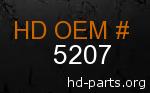 hd 5207 genuine part number