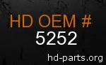 hd 5252 genuine part number