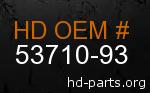 hd 53710-93 genuine part number