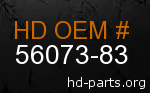 hd 56073-83 genuine part number
