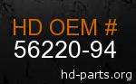 hd 56220-94 genuine part number