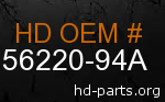 hd 56220-94A genuine part number
